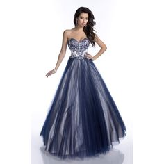 Envious Couture 16109 Prom Ball Gown Long Strapless Sleeveless ($483) ❤ liked on Polyvore featuring dresses, gowns, formal dresses, prom ball gowns, long prom dresses, long formal evening gowns, prom gowns and long evening dresses