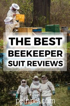 What is the best bee suit? We've taken a deep look at what's available and listed the best beekeeping suit for each price range & situation. Shelter Dogs, Animal Shelter, Animal Rescue, Animal Nutrition, Pet Nutrition, Bee Suit, Farm Pictures, Pet Organization, Backyard Beekeeping
