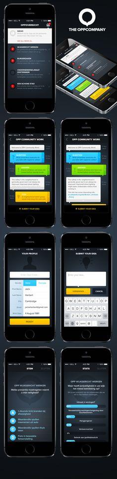 Opp App iOS7 UI