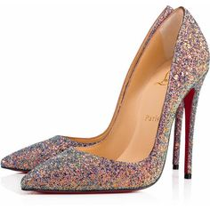 So Kate 120 Etincelle Glitter - Women Shoes - Christian Louboutin ($695) ❤ liked on Polyvore featuring shoes, pumps, pointed toe stiletto pumps, stiletto pumps, pointed toe high heels stilettos, heels stilettos and glitter pumps #stilettoheelspointed