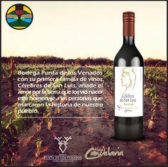 Celebres de San Luis, #vino de Bodega Punta de los Venados -  Finca Candelaria