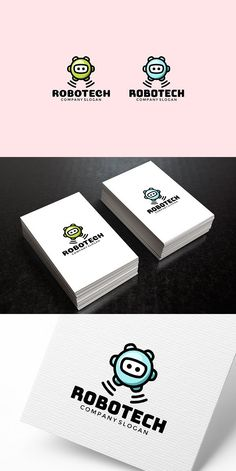 Bright logo with a picture of a cute robot. - vector AI, EPS, PDF and CDR files Robot Icon, Robot Logo, Branding Design, Logo Design, All The Colors, Icon Design, Brand Identity, Slogan, Commercial