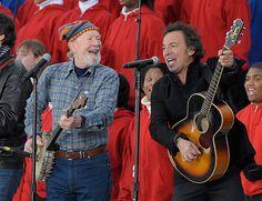 Bruce & Pete Seeger- Presidential Inaugural 2009