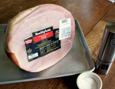 Nov 2019 - How to cook a ham. It's an economical and easy main dish for feeding a crowd. Cooking Ham In Oven, Ham Cooking Time, Ham In The Oven, Cooking Oil, Ham Shank, Baked Ham Oven, Oven Cooked Ham, Pork, Recipes