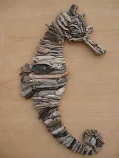 DRIFTWOOD SEAHORSE by SCHRODEKCREATIONS on Etsy, $275.00