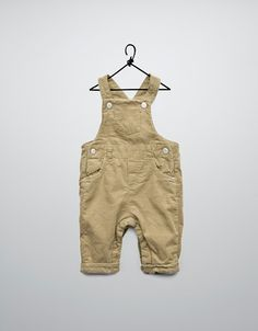 needle cord dungarees
