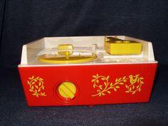 Fisher-Price Classic Retro Music Box Record Player with 5 Records Repro EUC #FisherPrice