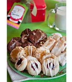 Holiday Cream Cheese Cookies - 4 Ways