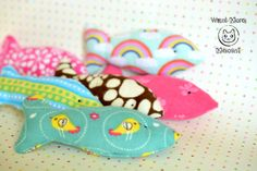 Cat toys Catnip toy Fish cat toy Pet toys Organic by WantMoreMeows