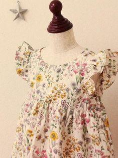 夏らしい花柄のワンピース- かわいいハンドメイドベビー服 lepolepo ルポルポ
