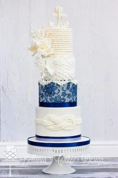 marine blue wedding cakes 1000 ideas about marine wedding cakes on 17130