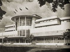 Jai Alai, Taft Ave., Manila Philippine Architecture, Outdoor Sculpture, Old Buildings, Manila, Old Pictures, Time Travel, Picture Video, Philippines, Modern Design