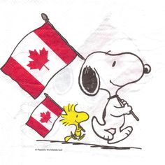 Snoopy and Woodstock in Canada