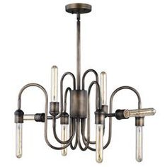 Patriot Lighting® Chapman Parisian Bronze Chandelier at Menards®: Patriot Lighting® Bronze Chandelier, Modern Chandelier, Chandelier Lighting, Chandeliers, Light Bulb Types, Bedroom Lighting, Bronze Finish, Glass Shades, Clear Glass