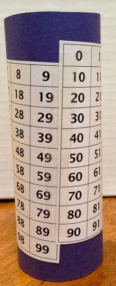 What an awesome way to show students a three-dimensional 100s chart. My students have so much trouble crossing over from __9 to the next ten!