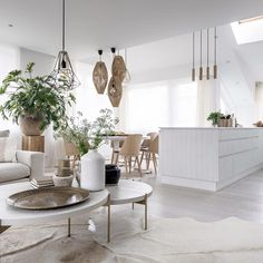 Dining Table, Inspiration, Scandinavian Interiors, Living Room, Kitchen, House Ideas, Concept, Furniture, Natural
