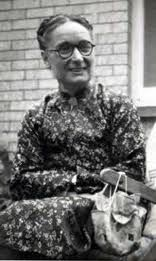 Gladys Aylward, missionary. Born in 1904 and she died Jan 3, 1970  (10 days before I was born).   She was dedicated to the simple, joyful and rare belief that WE ARE ALL RESPONSIBLE FOR EACH OTHER.  She did many good things in China and was given the name  'Ai-weh-deh', Chinese for 'Virtuous One'.  Watch the movie 'Inn of the 6th Happiness, which is based on her life.  Incredible woman.