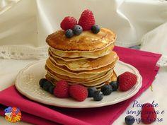Pancake senza uova e senza burro