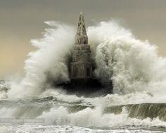 Lighthouse v/s the  by Senna Ayd, via 500px