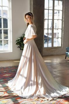 121 effortlessly beautiful boho wedding dresses – page 1 Country Wedding Dresses, Modest Wedding Dresses, Designer Wedding Dresses, Bridesmaid Dresses, Country Weddings, Vintage Weddings, Lace Weddings, Outdoor Weddings, Dresses Dresses