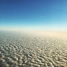 Über den Wolken #munichbound by ingridanusic