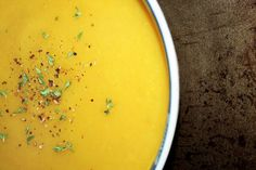 Design and Dishes: Dish | Acorn Squash & Sweet Potato Soup