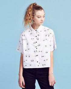 Lazy Oaf Eyeball Shirt - View all - NEW IN - Womens