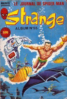Couverture de Strange -REC055- Album N° 55 (du n°164 au n°166)