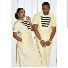23 Amazing Ankara African Native Attires styles for couples To Rock In 2019 - ~ African Fashion Couples African Outfits, African Dresses Men, African Fashion Ankara, Latest African Fashion Dresses, Couple Outfits, African Print Fashion, Africa Fashion, African Prints, African Fabric