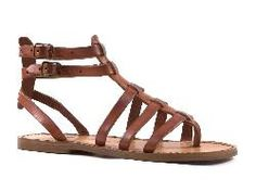 Flat gladiator sandals for women Handmade in Italy in cuir leather - Italian Boutique