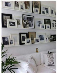 jak rozmieścić białe ramki na ścianie - Szukaj w Google