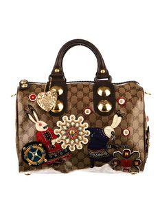Gucci Babouska Boston Bag