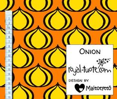 Trikoo Onion - oranssi / Jersey Onion - orange
