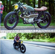 custom Honda CB350 cafe racer