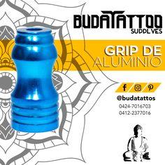 Disponibles en @budatattoos los grip de Aluminio. Diferentes modelos y colores. Contáctanos para más información.  Facebook: Buda Tattoo Instagram: @budatattos Twitter: @budatattoos_ budatattosupply@hotmail.com  Contacto: 0424-7016703 / 0412-2377016 También por whatsapp  #budatattoo #tattoo #tatuaje #venezuela #merida #supply #tattoosupply #ink #tattooink #tattooing #art #tattooart #tattoos #inked #instatattoo #bodyart #artist #tatuadoresvenezuela #masvidamastattoo #tattooaddict #inklife…