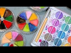 How to fix and repair chalk palettes! Please share this quick video tip on Pintrest, Facebook, G+ or wherever you like! sharing is caring! All you need is wa...