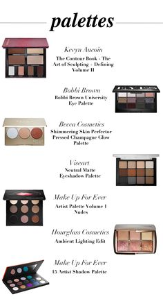 Top Make-Up Palettes of the Holiday Season #bbloggers #makeup