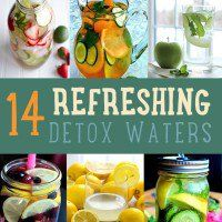 Feel like you need a good detox? In case you don't feel like you have the time to make a detox smoothie, why not make detox water instead? Get a natural detox with this list of detox water recipes.    Detox Water | Detox Water Recipes