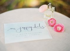 love that it is a clear envelope.  Photography: Stefanie Kapra Photography - www.stefaniekapraphoto.com  Read More: http://www.stylemepretty.com/2014/06/11/charming-plantation-wedding-inspiration-shoot/