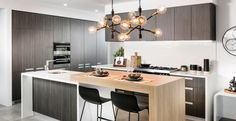 4 Corvina Way, Woodvale - 6 Central Kitchen, Huge Kitchen, Inviting Home, Storey Homes, House Siding, Display Homes, Basement Remodeling, Home Renovation, House Plans