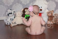 6 month baby session by Juli Fields Photography