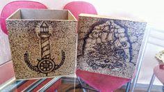 Pirografia Em caixa de MDF!