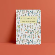 Everyday Notes Notebook – wunderbär Diy Trend, Scribble, New Product, How To Find Out, Stationery, Notebook, Creative