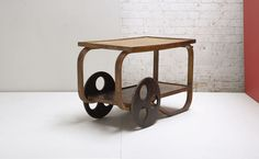 3034: ALVAR AALTO Tea trolley, ca. 1938 Manufactu