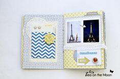 mini album scrapbook Paris 2