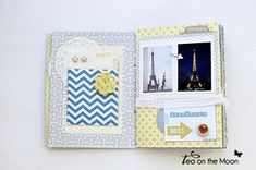 mini album scrapbook Paris 2
