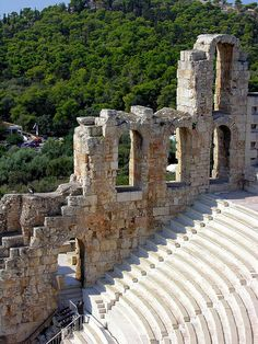 Odeion of Herodes Atticus, Athens, Greece