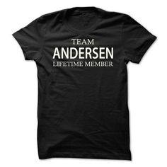 Team Andersen - #graduation gift #thank you gift. LOWEST PRICE => https://www.sunfrog.com/Names/Team-Andersen-koxza.html?68278
