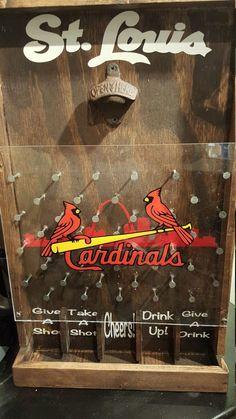 Drinko Plinko for the St. Louis Cardinals fan