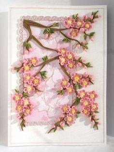 Paper Quilling Flowers, Neli Quilling, Paper Quilling Patterns, Quilling Paper Craft, Quilled Creations, Quilling Tutorial, Quilling Techniques, Arte Floral, Paper Cards